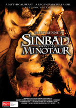 Sinbad and the Minotaur Australian theatrical poster