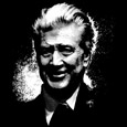 Black and White David Lynch Illustration